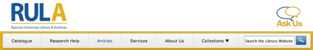 new site header