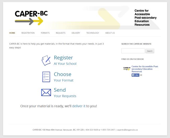 caperbc frontpage