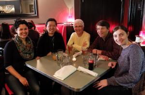 code4lib 2014 newcomer dinner